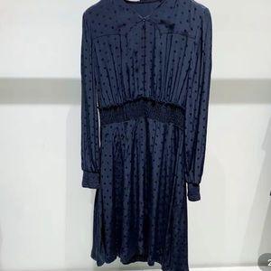 Sandro blue dress